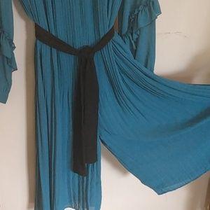 Zara Pants - Zara dark teal jumpsuit sz m
